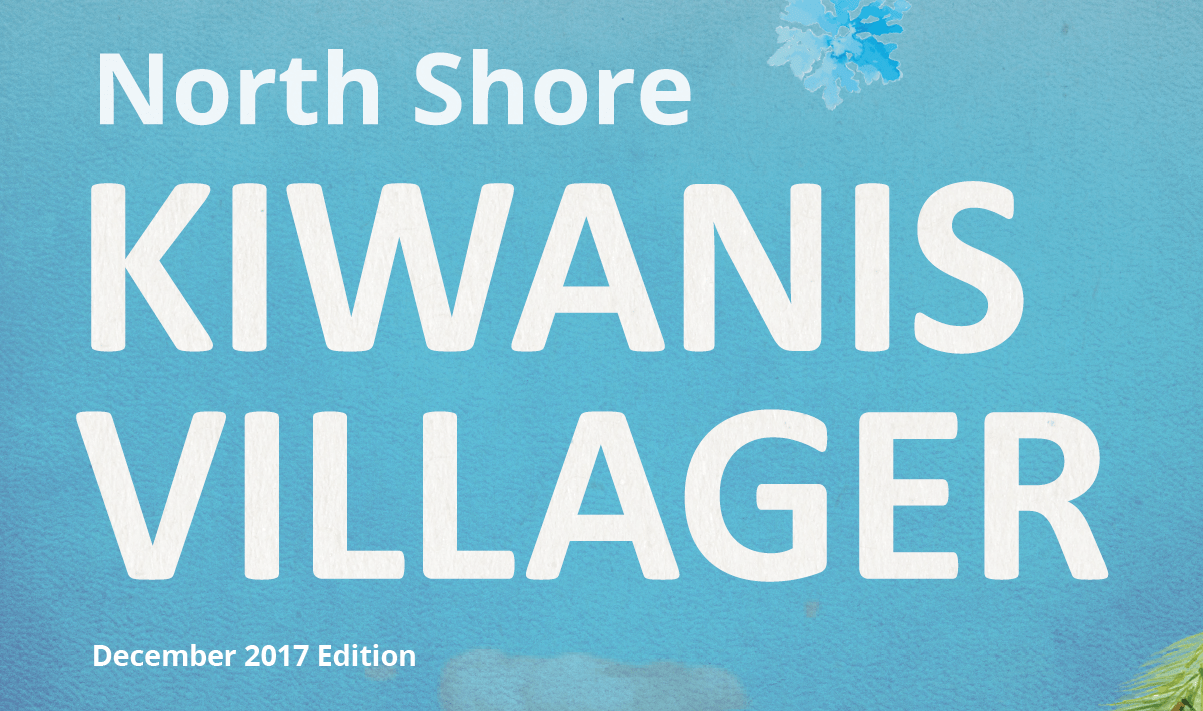 Kiwanis Villager December 2017